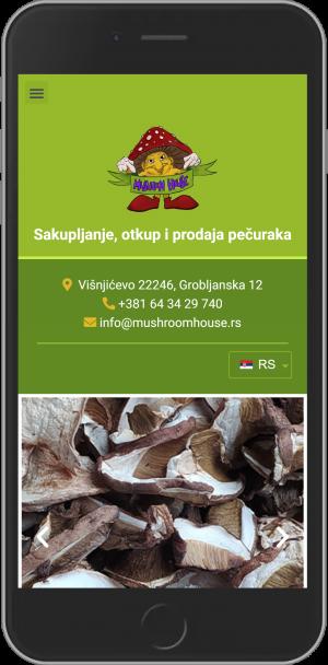 Mushroom house android app